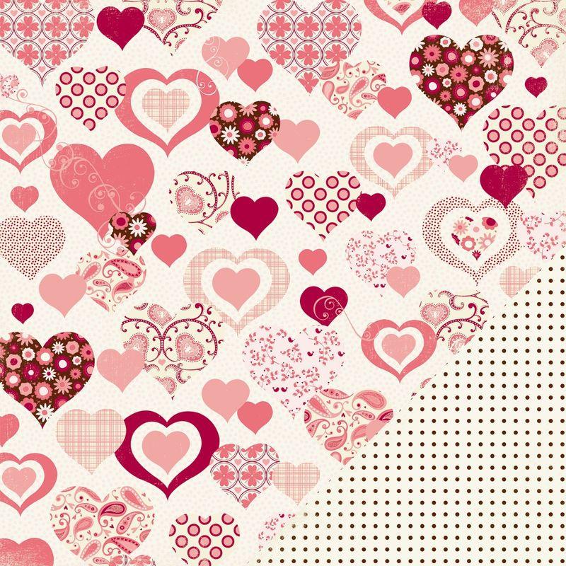 Valentine pattern heart