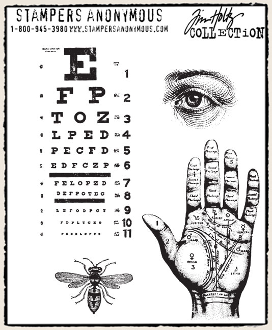 Eye stamps