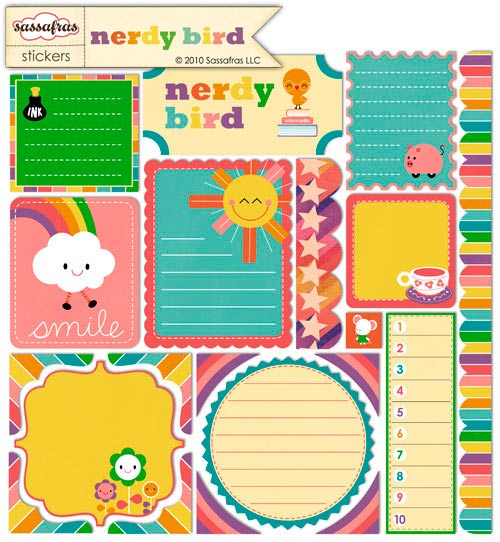 Nerdy bird journal