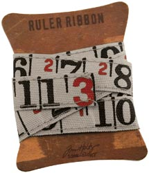 Ruler ribbon
